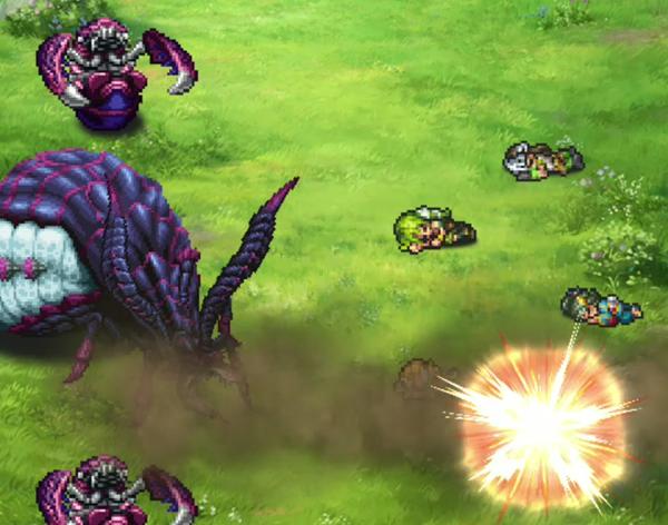玄蟲ロマンシング初見戦闘3