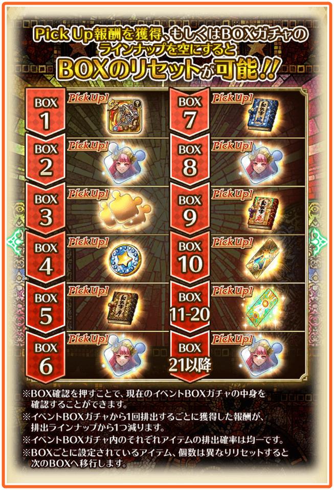サガスカ発売記念BOXガチャ遊び方1